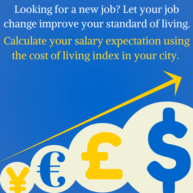 Cost of living calculator cost of living comparision calculator